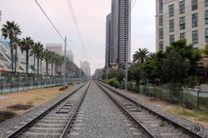 San Diego. Trainstation.