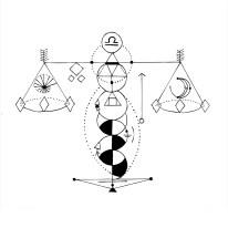 Geometric Libra - digital edited