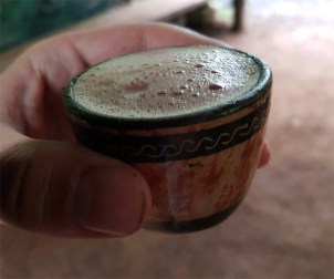 Traditional Aztec Drink called Cacahuatl