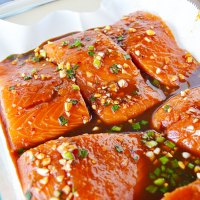 Asian Marinated Salmon