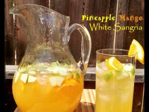 Pineapple Mango White Sangria