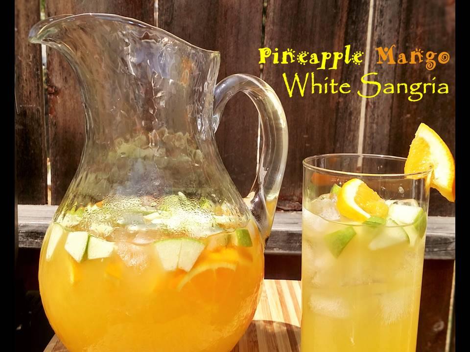 Pineapple Mango White Sangria