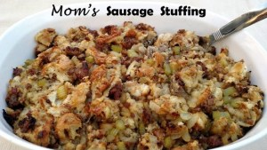 Mom's Sausage Stuffing