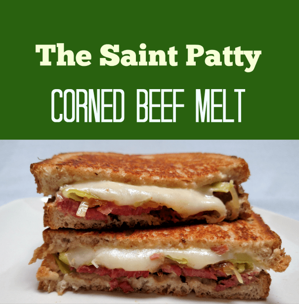 The Saint Patty Corned Beef Melt