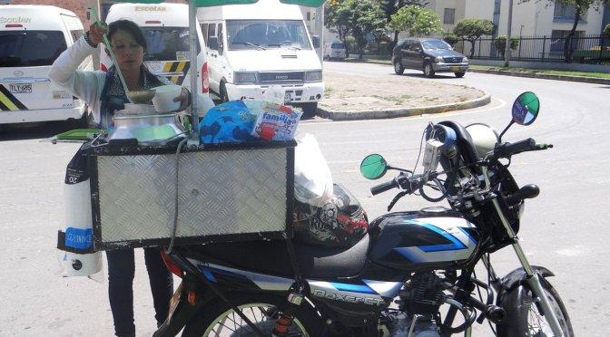 Business on a Bike in Bogota