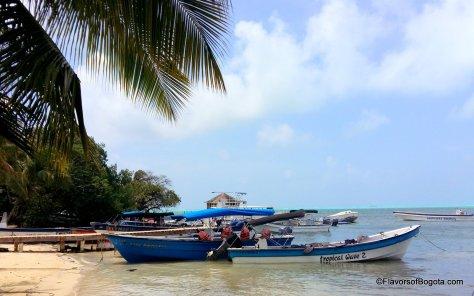 San Andres boats
