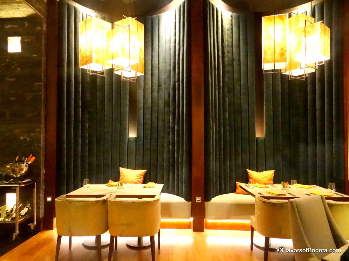 JW Marriott's new Restaurant in Bogota: Tamarine