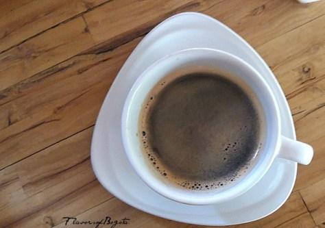 Black coffee Bogota