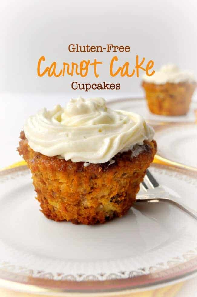 These Paleo Gluten Free Carrot Cake Cupcakes Are Dairy Refined Sugar