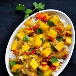Easy Mango Chicken