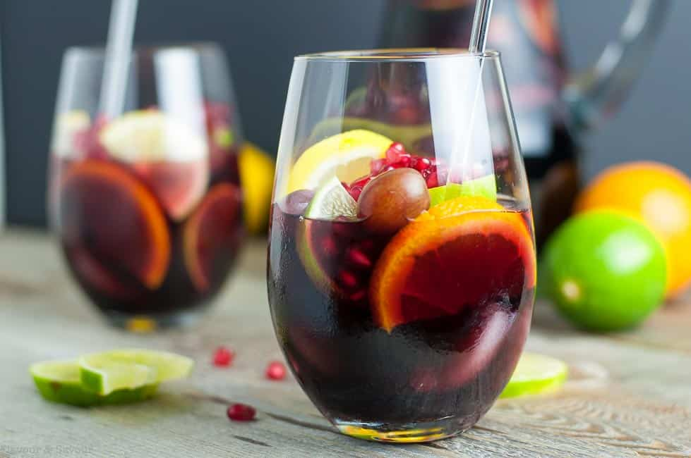 Red Wine Citrus Pomegranate Sangria
