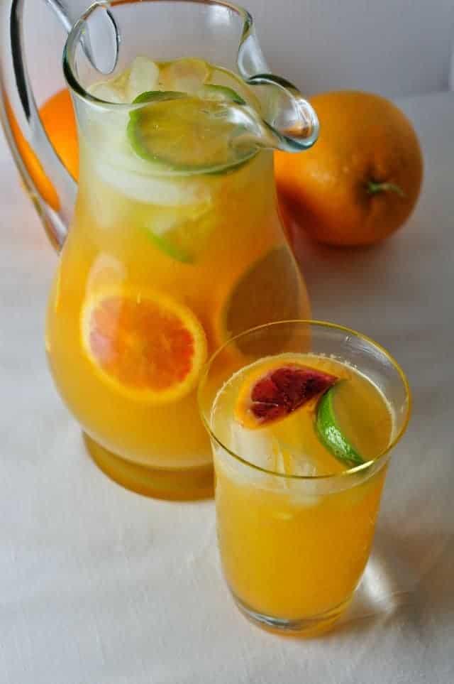 Citrus Sangria with Triple Sec, 3 Favourite Sangria Recipes |www.flavourandsavour.com