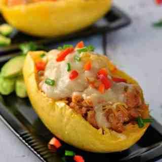 Chorizo Chicken Spaghetti Sauce |www.flavourandsavour.com