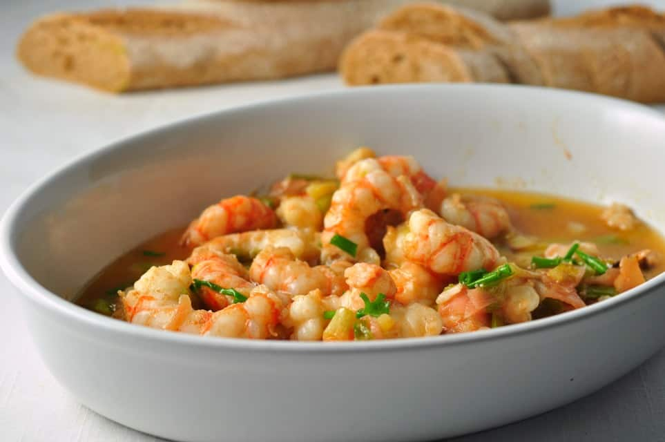 Gin-Gingered Prawns |www.flavourandsavour.com Ready in 5 min