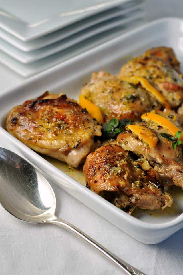 Easy baked lemon chicken flavour and savour easy baked lemon chicken easy one pot paleo dish that quickly became our family forumfinder