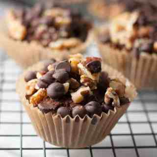 Chunky Monkey Muffins. Grain-free and dairy-free deliciousness all packed into a healthy muffin!