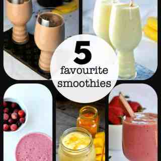 Five Favourite Smoothies