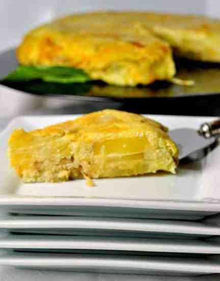 Spanish Omelette Tortilla Espanol