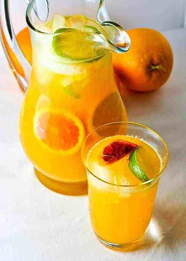 Citrus Sangria with Triple Sec
