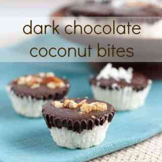 15 minute Quick and Easy Chocolate Coconut Bites