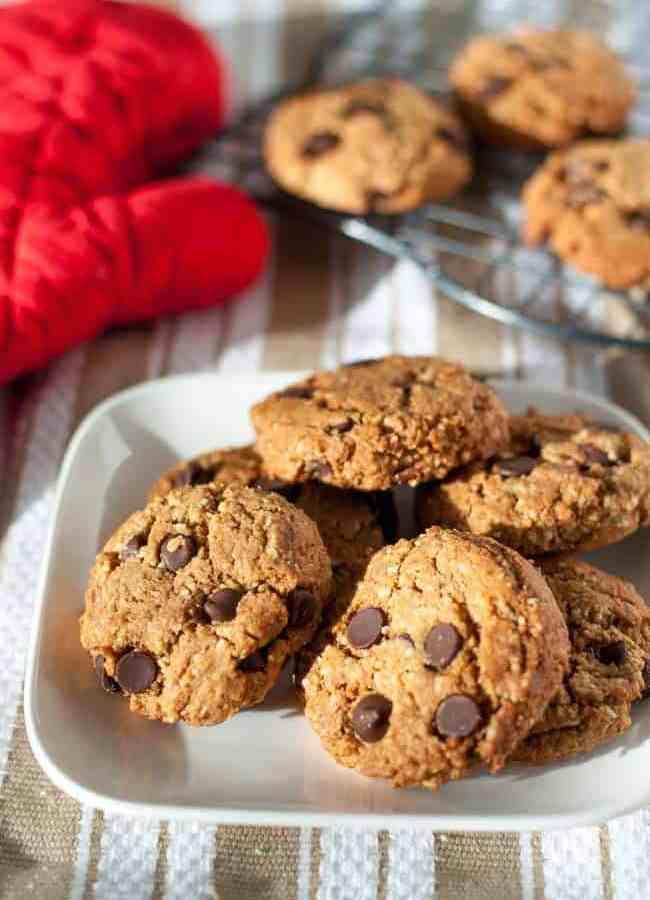 My Favourite Gluten-Free Chocolate Chip Cookies