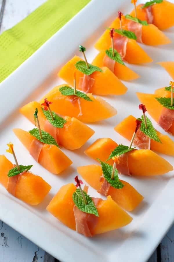 Prosciutto with Melon and Mint in Italy |www.flavourandsavour.com