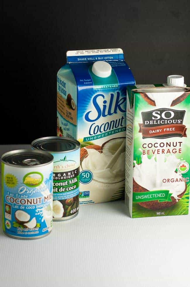 Know What Type of Coconut Milk to Use