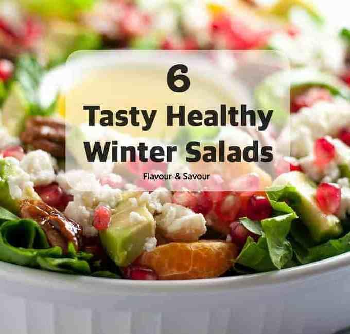 Six Tasty Healthy Winter Salads