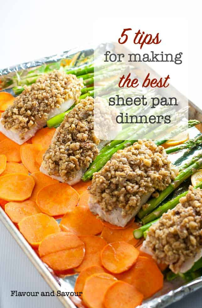 5 tips for making the best sheet pan dinners