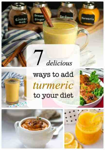 7 Delicious Ways to add Turmeric to your diet