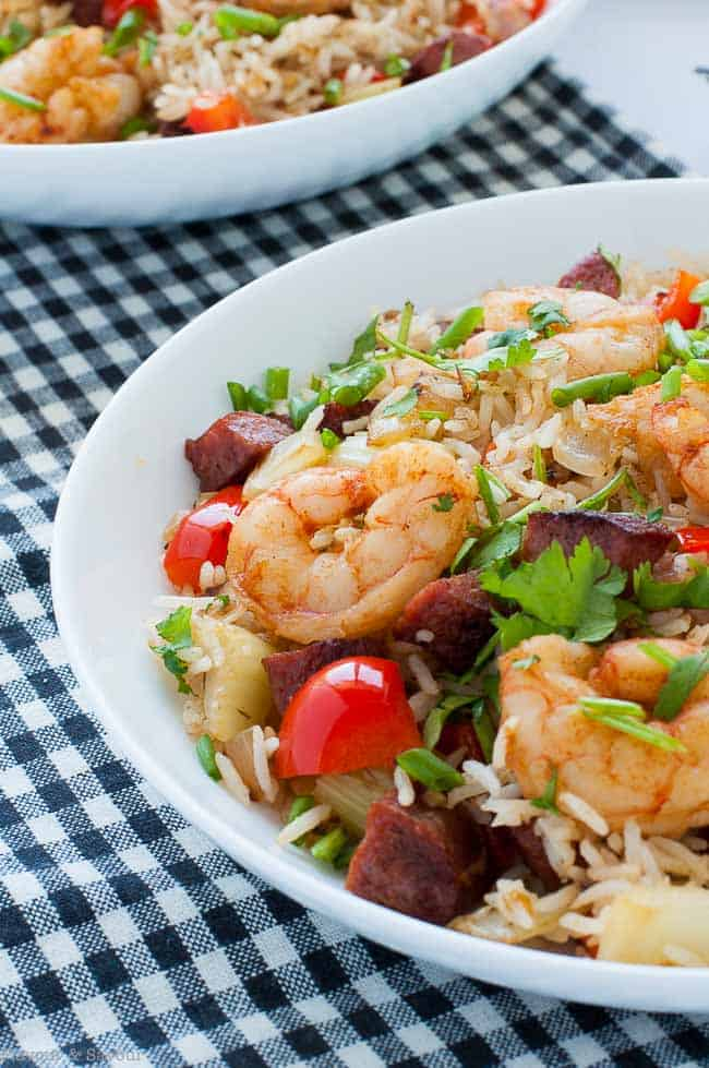 Easy Cajun Shrimp Fried Rice