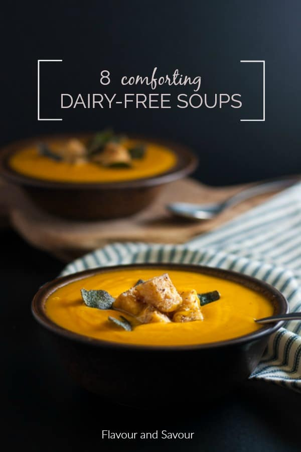 Making homemade soup doesn't have to be difficult. Here are 8 comforting homemade dairy-free soup recipes that are also gluten-free. Many vegan or paleo too.