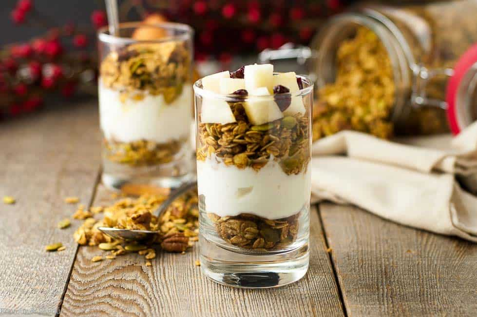 Gingerbread Spiced Granola l