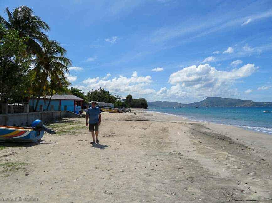 Petite Martinique beach