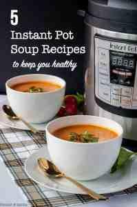 5 Clean-Eating Instant Pot Soup Recipes title