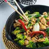 Easy Japanese Chicken Stir Fry with Broccoli