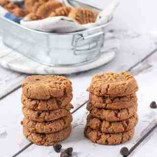 Easiest Ever 4-Ingredient Peanut Butter Cookies