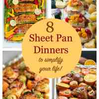 8 Healthy Sheet Pan Dinners to simplify your life
