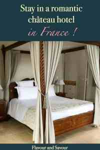 Pinterest Pin for Stay in a Chateau Hotel in France