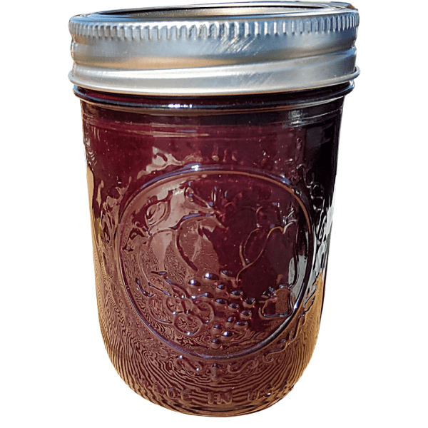 Blue goose artisan jam made fresh and local by Flavour in a Jar.