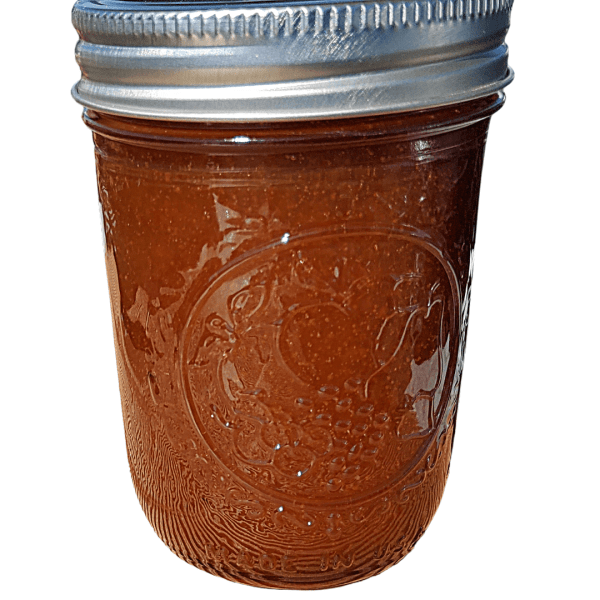 Spicy apricot artisan jam made with fresh, locally grown produce by Flavour in a Jar.