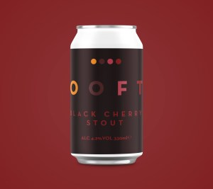 OOFT Cherry Stout Beer Can