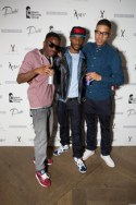 The Angel album launch party at The May Fair Hotel, London. Guests drank the new Red Bull Editions.