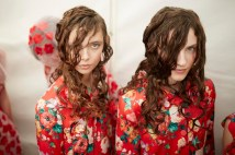 Simone Rocha SS15, backstage (Shaun James Cox, British Fashion Council) 1