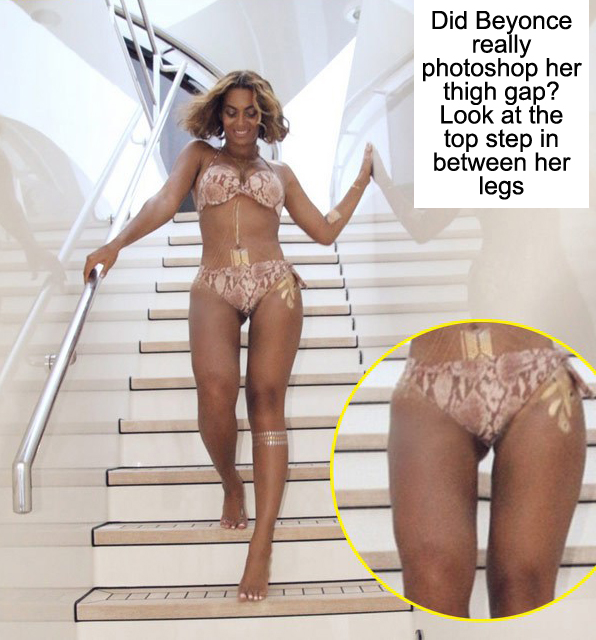 Beyonce Accused of Photoshopping