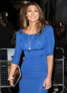 Luisa Zissman managed to make a scene on the red carpet last night, suffering a wardrobe malfunction with her nipples on display