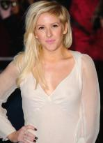 Worst wardrobe malfunctions- Ellie Goulding wore a white dress at the Les Mis premiere with NO BRA