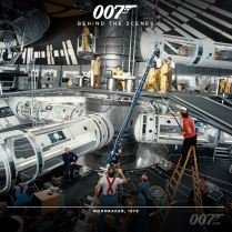 Bond 24 behind the scenes timeline photos 24
