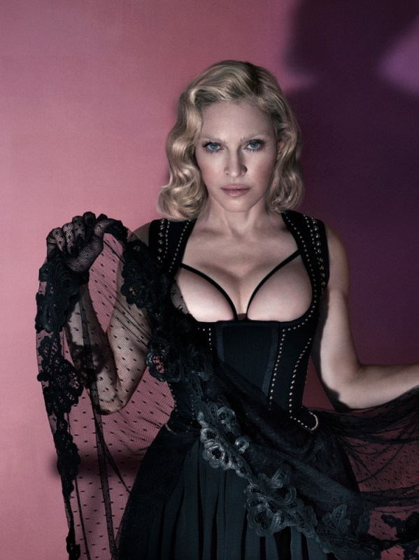 madonna topless interview magazine 001