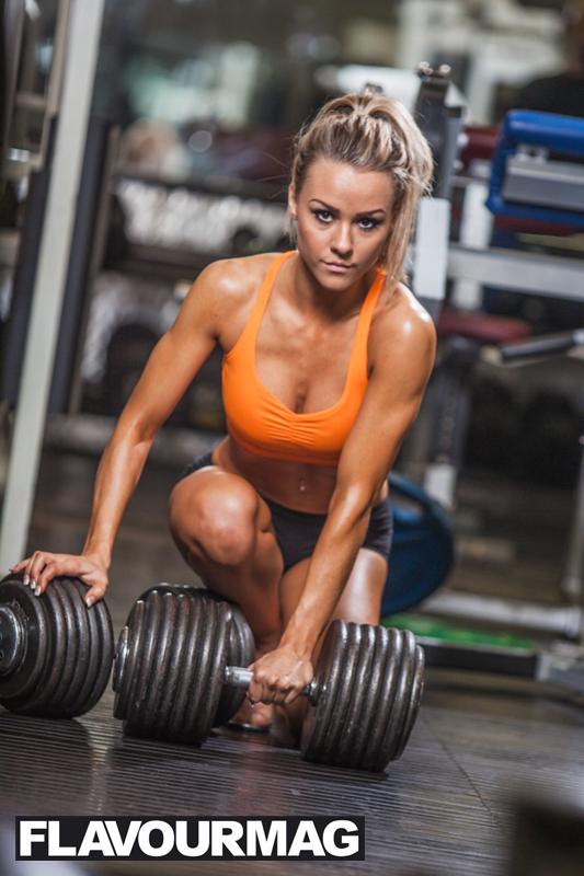 Chelsea Dyson fitness model 10